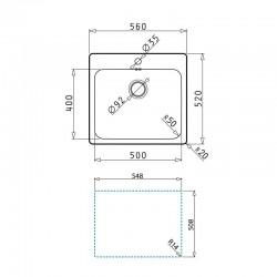 Radiador aluminio BAXI-ROCA TV 1800 de 5 elementos Distribuidorvende.com