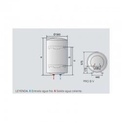 Radiador FERROLI europa 600 C de aluminio 4 elementos Distribuidorvende.com