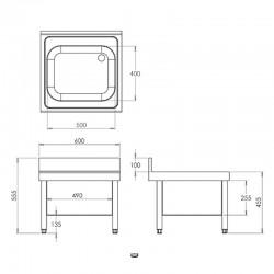 Radiador aluminio Baxi Roca Adra 11 700S panel 700x700 Distribuidorvende.com