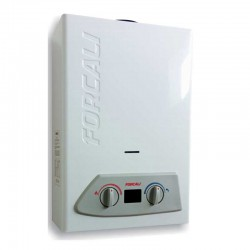 Calentador a gas natural FORCALI 10 litros automático.