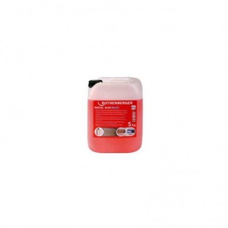 Desincrustante químico Rothenberger Rocal Acid Multi 5 kg