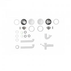 Armario cubre-calderas estancas 800x500x400 blanco