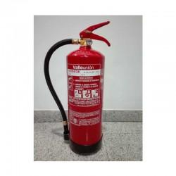Extintor polvo ABC 6 Kg.
