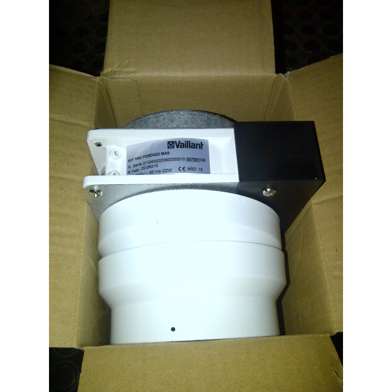 Kit de tiro forzado universal para calentadores 6, 10, y 11 litros.