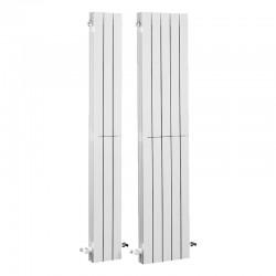 Radiador vertical de aluminio BAXI AV 1800. 5 elementos.
