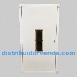 Armario cubre-calderas estancas blanco. 900x500x400.
