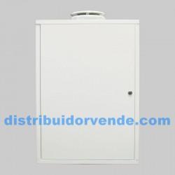 Armario cubre-calentador blanco. 700x500x240.