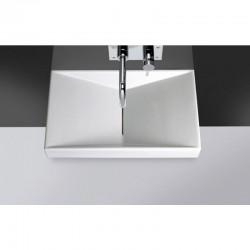 Lavabo UNISAN Flux 65 sin orificio para grifo (650x390)