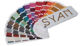 Fregadero de fibra Syan. Colores