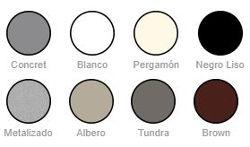 Fregaderos Poalgi. ColorStandard.