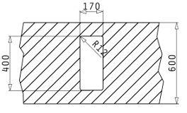 Fregadero inox ASTRIS (17x40). Mueble.