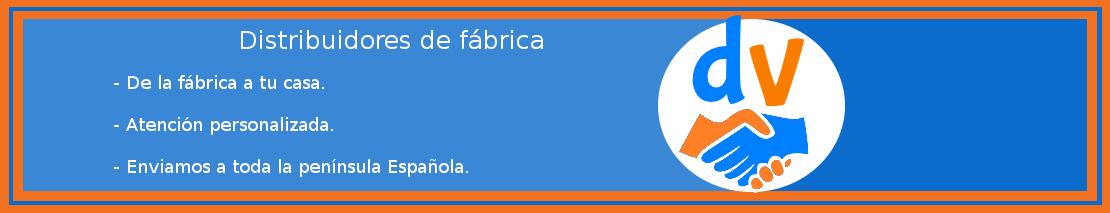 Distribuidores de productos para hogar. De la fábrica a tu casa. Atención personalizada. Enviamos a toda la península española.